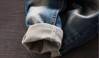 Практичный джинсовый комбинезон #4
