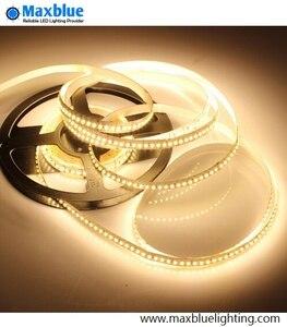 Светодиодная лента SMD3014, 204 светодиода/м, 5 м, 1020 шт., 3014smd, 12В постоянного тока, CRI 82Ra, неводонепроницаемое светодиодное освещение