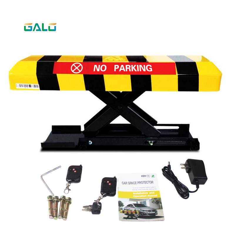 Cross Reserved Automatic Parking Lock & Parking Barrier With 2pcs Remote Control