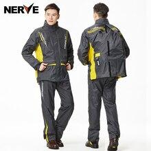 Rainfreem Brand Impermeable Raincoat Women/Men Jacket Pants Set Adult Rain Poncho Thick Police Rain Gear Motorcycle Rainsuit 5XX