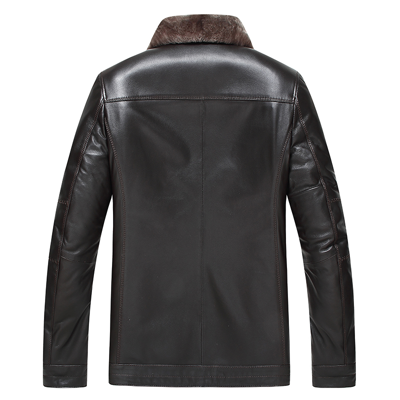 Aliexpress.com : Buy Gours Winter Men's Genuine Leather Jackets ...