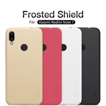 Xiaomi Redmi Note 7 Pro Case NILLKIN Frosted PC Matte Hard Back Cover Case untuk Redmi Note 7 Kado Hadiah pemegang
