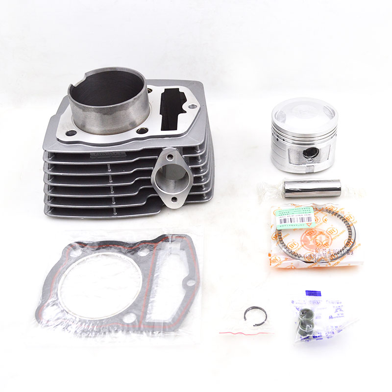 For WY150 CB150 HJ150 WY CB HJ 150 High Quality Motorcycle Cylinder Kit Set Engine Spare Parts high quality motorcycle cylinder kit for