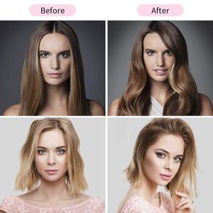 Image 5 - Professional One Step włosów na gorące powietrze szczotko suszarka volumizer 2 w 1 prostownica do włosów i lokówki lokówka elektryczna grzebień