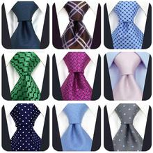 Blue Paisley Wedding Fashion Mens Necktie Silk Accessories Ties for Men Colorful Groom Business
