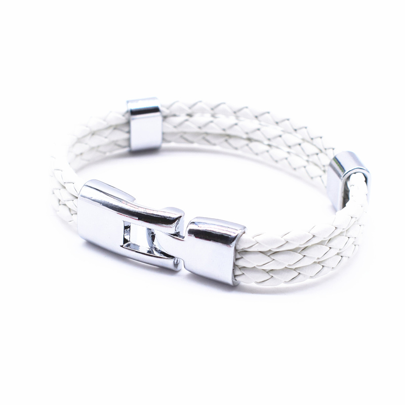 17 Fashion Unisex Jewelry Red String Bracelet 3 Layer Handmade Braided Leather Rope Men Women Hand Strap Charm Bracelet 6