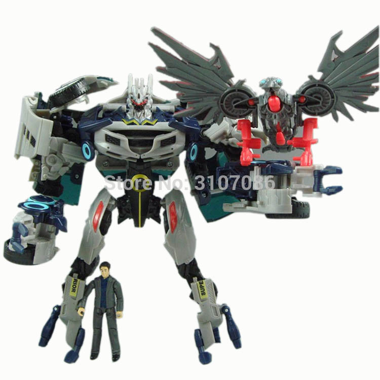 Transformation Soundwave Laser Bird Human Alliance Movie Revenge of the Fallen Version KO Action Figure Robot