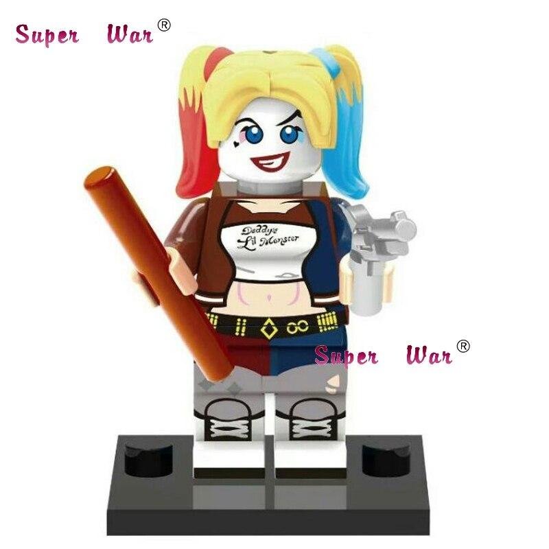 Blocks 20pcs Star Wars Superhero Marvel Harley Quinn Movie Building Blocks Action Figure Bricks Model Educational Diy Baby Toys Strengthening Sinews And Bones