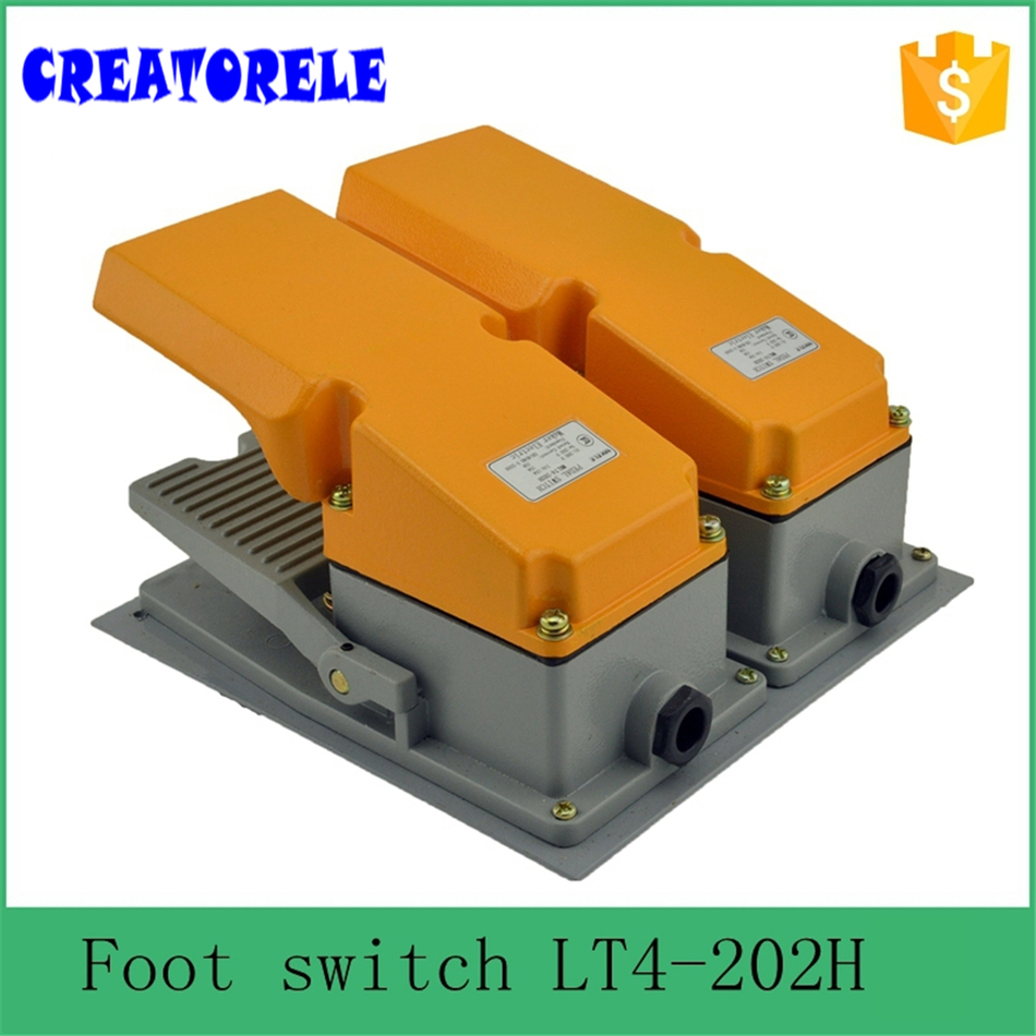 IT4-202H factory price cheap CE Newest Iatest metaI doubIe pedaI foot swItch for bending machine punch hot sale mklt4 202h factory price cheap ce newest latest metal double pedal foot switch for bending machine punch