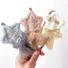 Korea lovely  Star Flower Hair Accessories For Girls High Quality Band Headband Bow Princess 4
