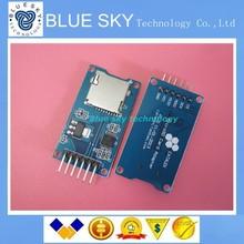 20 шт./лот Карта Micro Sd мини TF card reader модуль SPI интерфейсы с чип преобразователь уровня для arduino