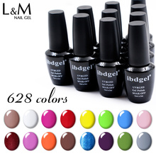 Оптовая продажа с фабрики, 36 шт., Бесплатная доставка DHL, отмачиваемый Гель лак для ногтей, 30 дней, долговечные гелевые ногти (30 цветов + 3 Топа + 3 основания)