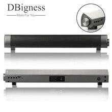 Dbigness Bluetooth Speaker Soundbar Magnetic Stereo Sound Subwoofer TF Card Speaker Bluetooth Boombox for Computer Tablet TV