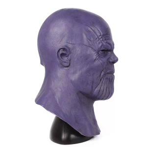 Image 5 - Latex Sanos Cosplay Mask Helmet Full Head Halloween Party Cosplay Props Adult Costume Sanos Masks