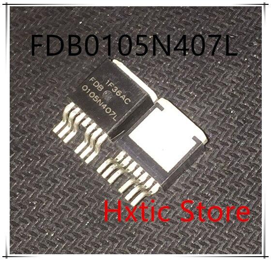 NEW 10PCS LOT FDB0105N407L FDB0105N407 0105N407L TO 263 IC