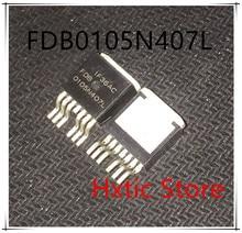 NEW 10PCS/LOT FDB0105N407L  FDB0105N407 0105N407L TO-263 IC