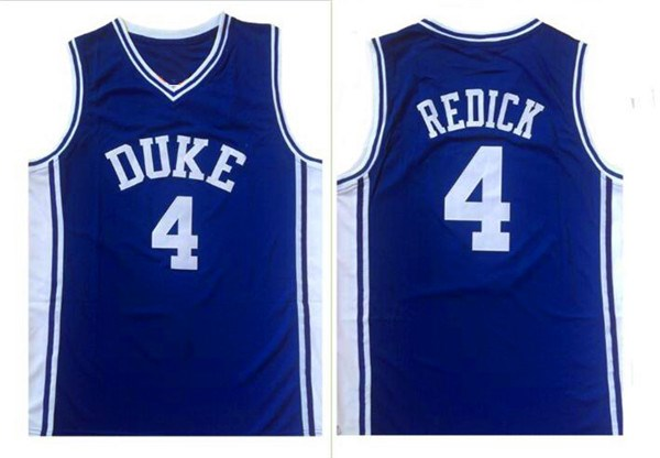 ... real jj redick 4 duke blue devils college throwback basketball jersey  stitched in basketball jerseys from e4b5c62aa