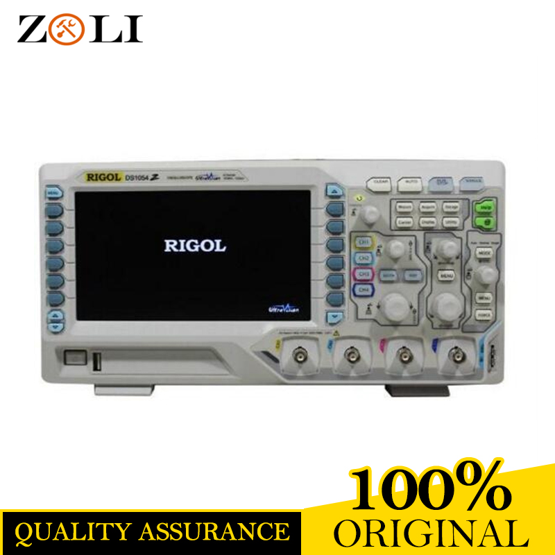 цена на RIGOL DS1054Z 50MHz Bandwidth 4 Channels DS1054Z 12Mpts Memory Depth One year warranty good quality on sale