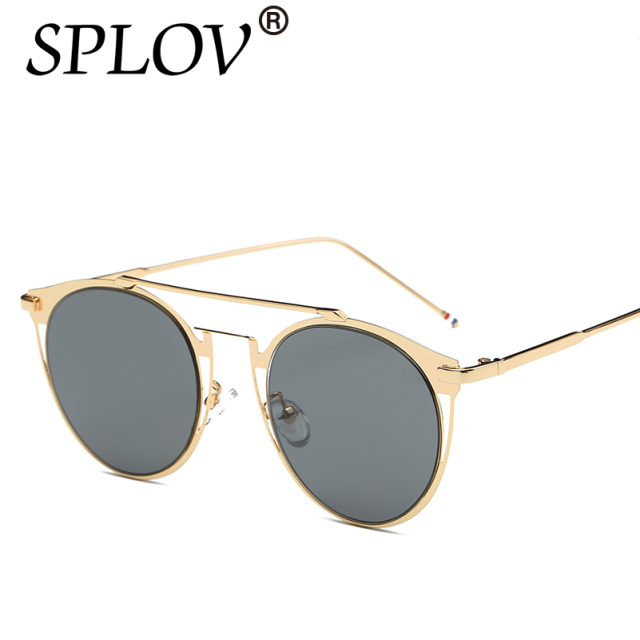 6de3d704d0c 2017 Vintage Colorfull Metal Sunglasses Fashion thom browne sunglasses Men  luxury brand sunglasses Brand designer With BOX Women