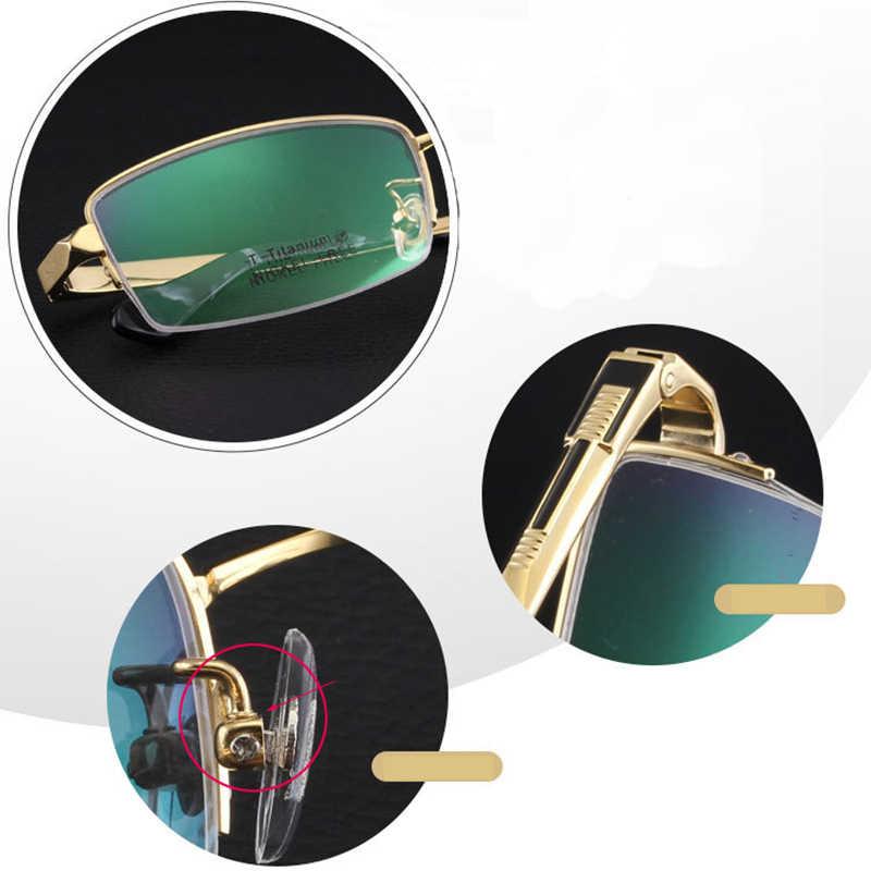 Bellcaca мужская оправа для очков из чистого титана очки для работы за компьютером оптические прозрачные линзы оправа для очков для мужчин бренд Lunette BC264