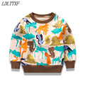 Knitted Baby Boy Sweater Casual Winter 2017 Cartoon Dinosaur Pattern Warm Cotton Boys Sweater And Pullovers Children sweaters
