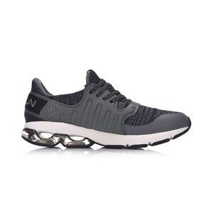 Image 2 - (Break Code)Li Ning Men BUBBLE ARC Cushion Running Shoes Wearable LiNing li ning Sport Shoes Breathable Sneakers ARHM091 XYP592