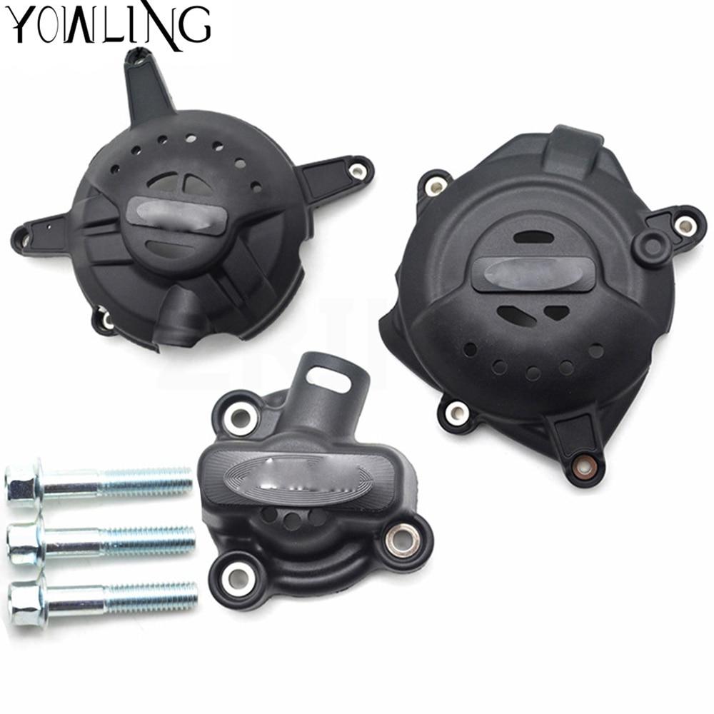 Moto moteur Stator carter de protection protecteur de protection pour Yamaha YZF R3 YZFR3 2015-2016 Stator Crash Pad curseur protecteur