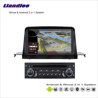 Liandlee For Citroen C3 / Aircross / Picasso 2008~2013 Car Radio CD DVD Player GPS Navigation Wince & Android 2 in 1 S160 System