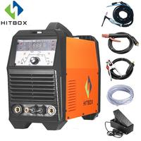 HITBOX Arc TIG Welders Aluminum Welding ACDC 220V TIG200P Inverter Welding Equipment Functional Long Distance Control Machine