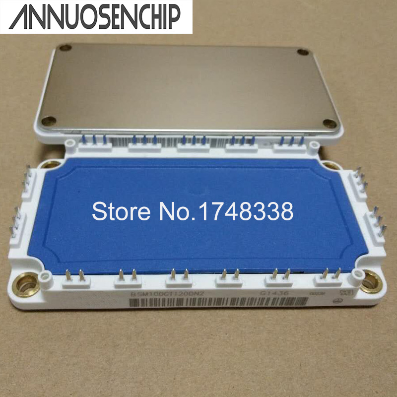 NEW ORIGINAL BSM100GT120DN2  IGBT Power Module N-CH 1.7kV 100A nom 960W 7-Pin 106.4x61.4mm (Not a refurbished) 7mbr75ub120 genuine power igbt module spot xzqjd
