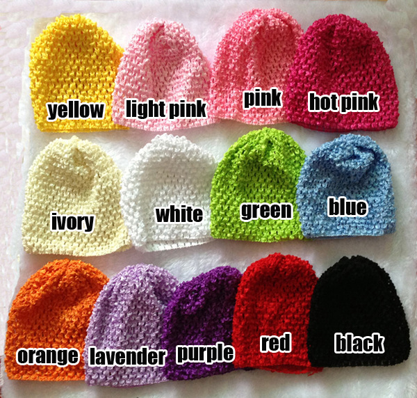 Hot Selling Children Handmade hat kids Crochet Hats Girls Knitted Hats Caps new born Beanies caps 20ps/lot
