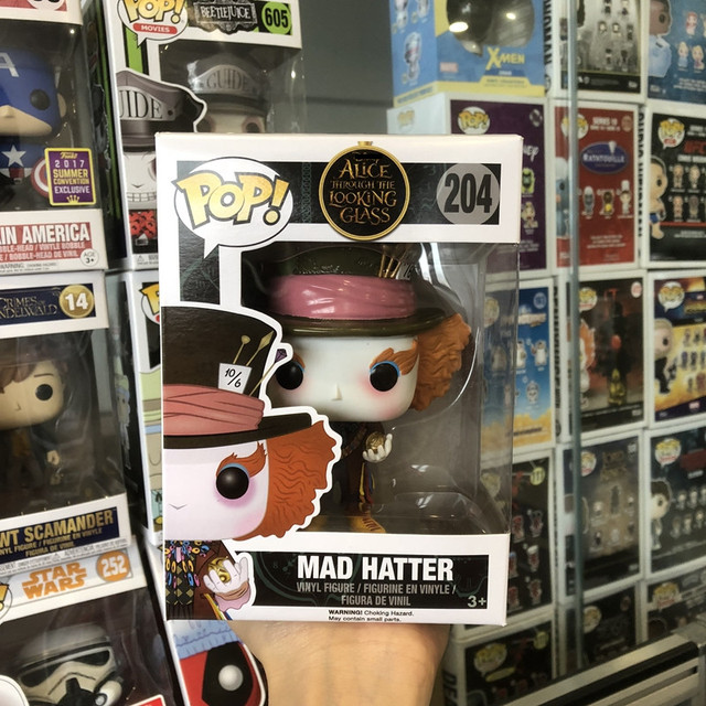 Exclusive Funko Pop Official Alice Through The Looking Glass Mad