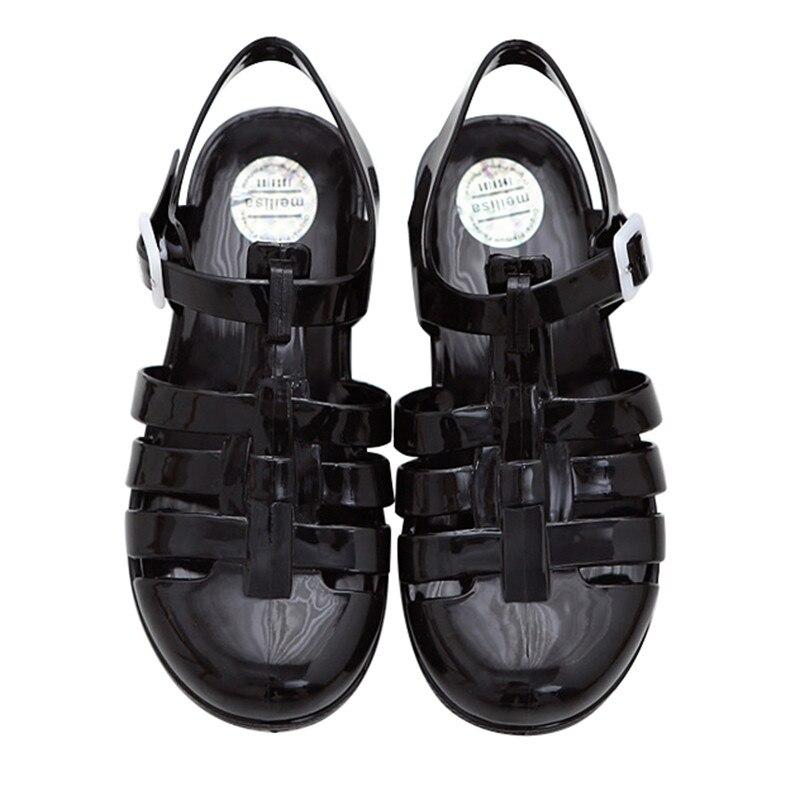 Nya mode Sandaler Sommarskor Kvinna Andningsbara tofflor Casual Shoes - Damskor