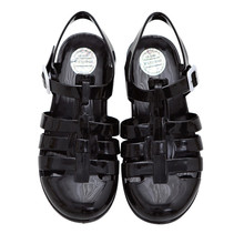 New Fashion Sandal Musim Panas Sepatu Wanita Bernapas Sandal Kasual Sepatu Gadis Luar Bakiak Gesper Plastik Mules Zapatos Mujer