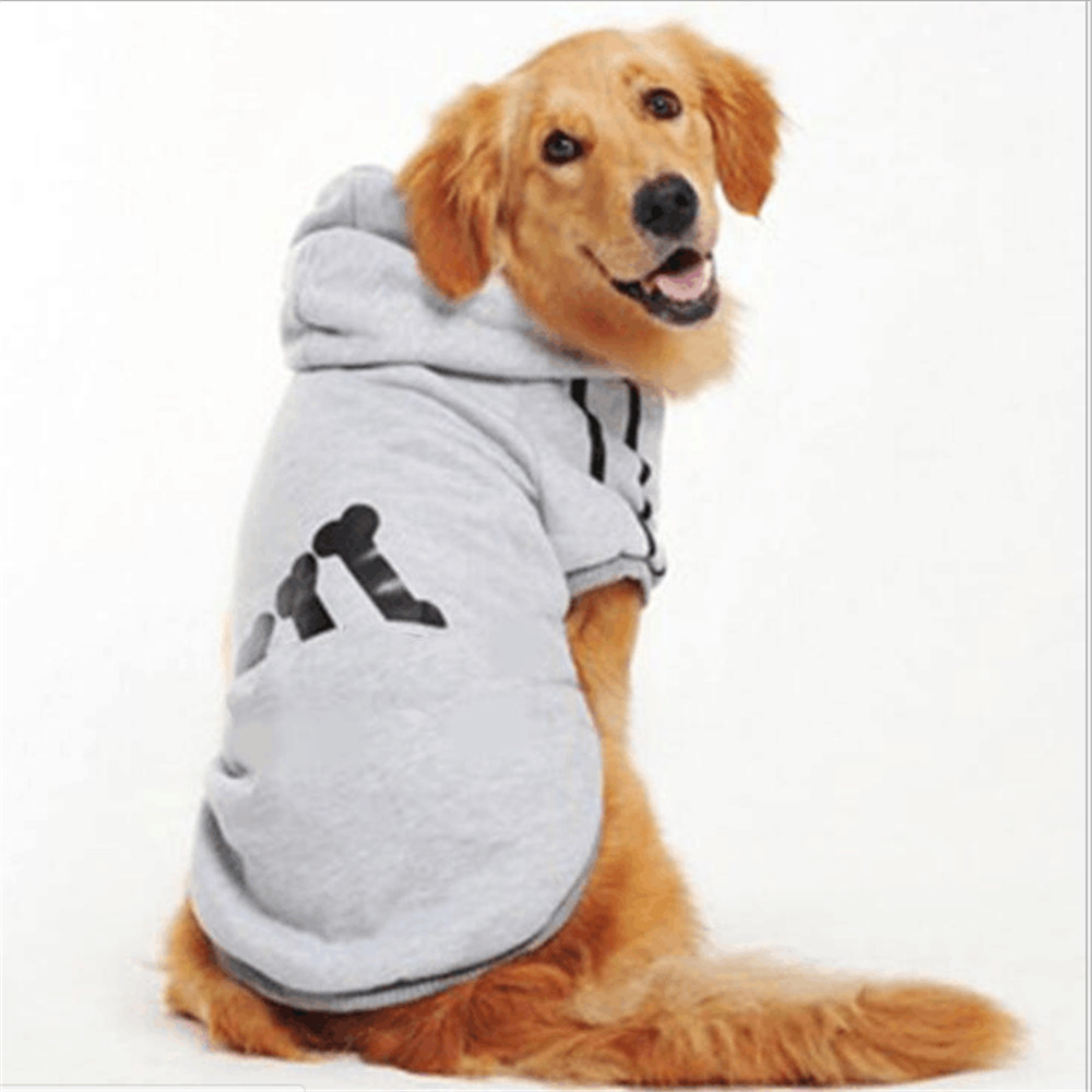 Pet Dog Cotton Clothes For Large Dogs Winter Coat Hoodies Jackets Sportswear T-shirt Sweaters For Labrador Retriever m-7XL