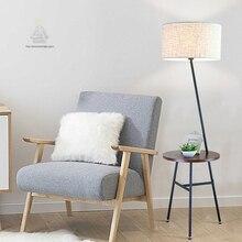 Moderne Regale Holz Eisen Industrielle Stativ Stehlampe Wohnzimmer Stehleuchte Fr Home Deco Lesen Luminaria De Mesa Tuch