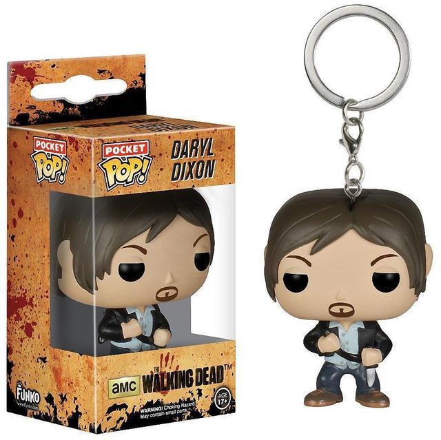 Funko POP The Walking Dead Action Figure Pocket Keychains