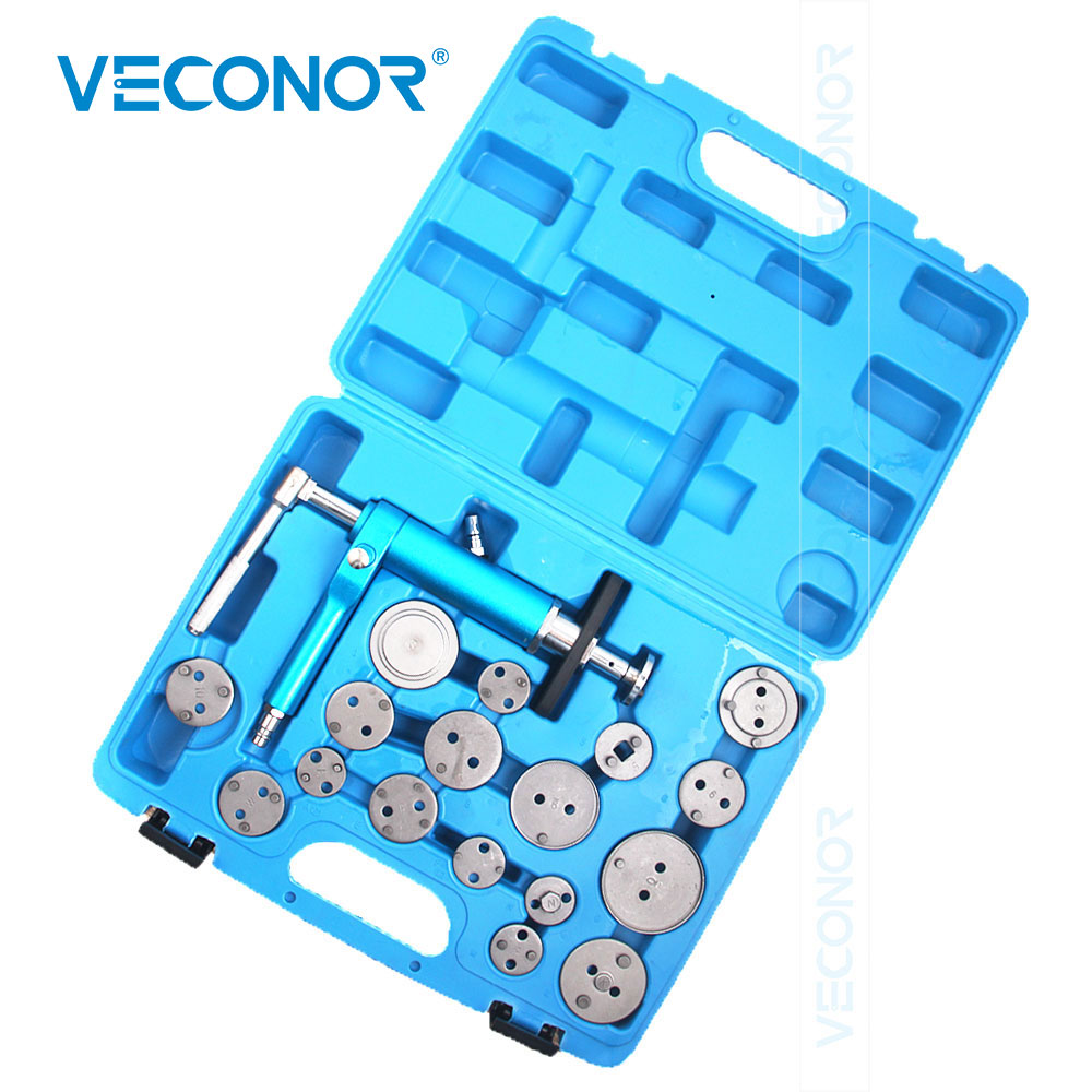18PCS Automotive Professtional Air Line Pneumatic Brake Piston Wind Back Tool Set Brake Caliper For Home And Workshop