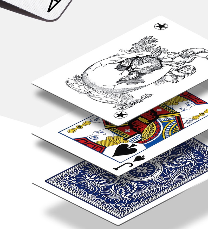 USA Aladdin Paper Marked Playing Cards Magic Invisible Cards for UV Contact Lenses <font><b>Cheat</b></font> in Casino Gambling Anti Poker <font><b>Cheat</b></font> image