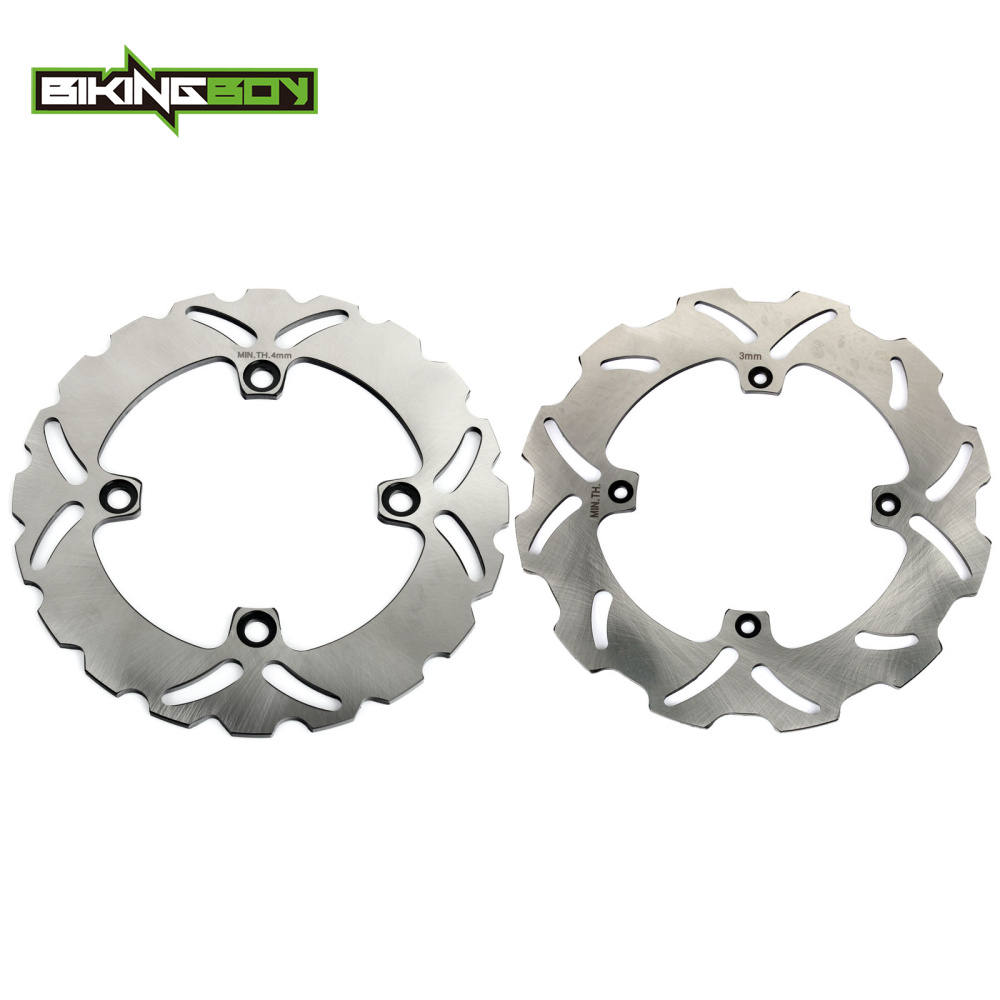 BIKINGBOY Front Rear Brake Disc Disk Rotor For HONDA XR250R 90 04 XR400R 95 05 XR600R