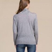 Silk Turtleneck long sleeve Cashmere Sweater NA01
