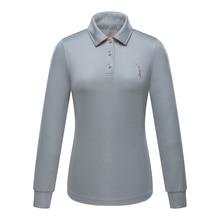 Brand POLO Golf Women Polo Shirt Good Quality Lady Newest Long Sleeve Lady Golf T-shirt Turndown Collar Golf Shirt Clothing