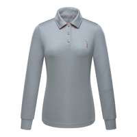Fashion Brand POLO Golf Womens Polo Shirts Ladies Autumn And Winter Long Sleeve Golf T Shirt