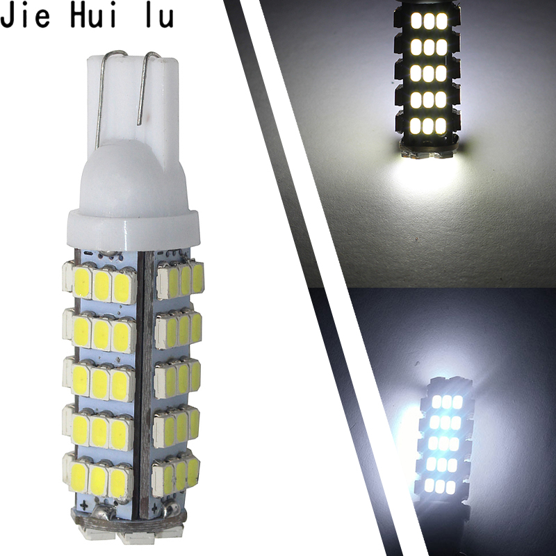 1Pcs / 2Pcs T10 <font><b>W5W</b></font> 68 <font><b>LEDs</b></font> 194 501 1206 SMD Car Styling Interior Lights Clearance Lamp Marker Lamps Auto <font><b>Bulbs</b></font> DC <font><b>12V</b></font> image