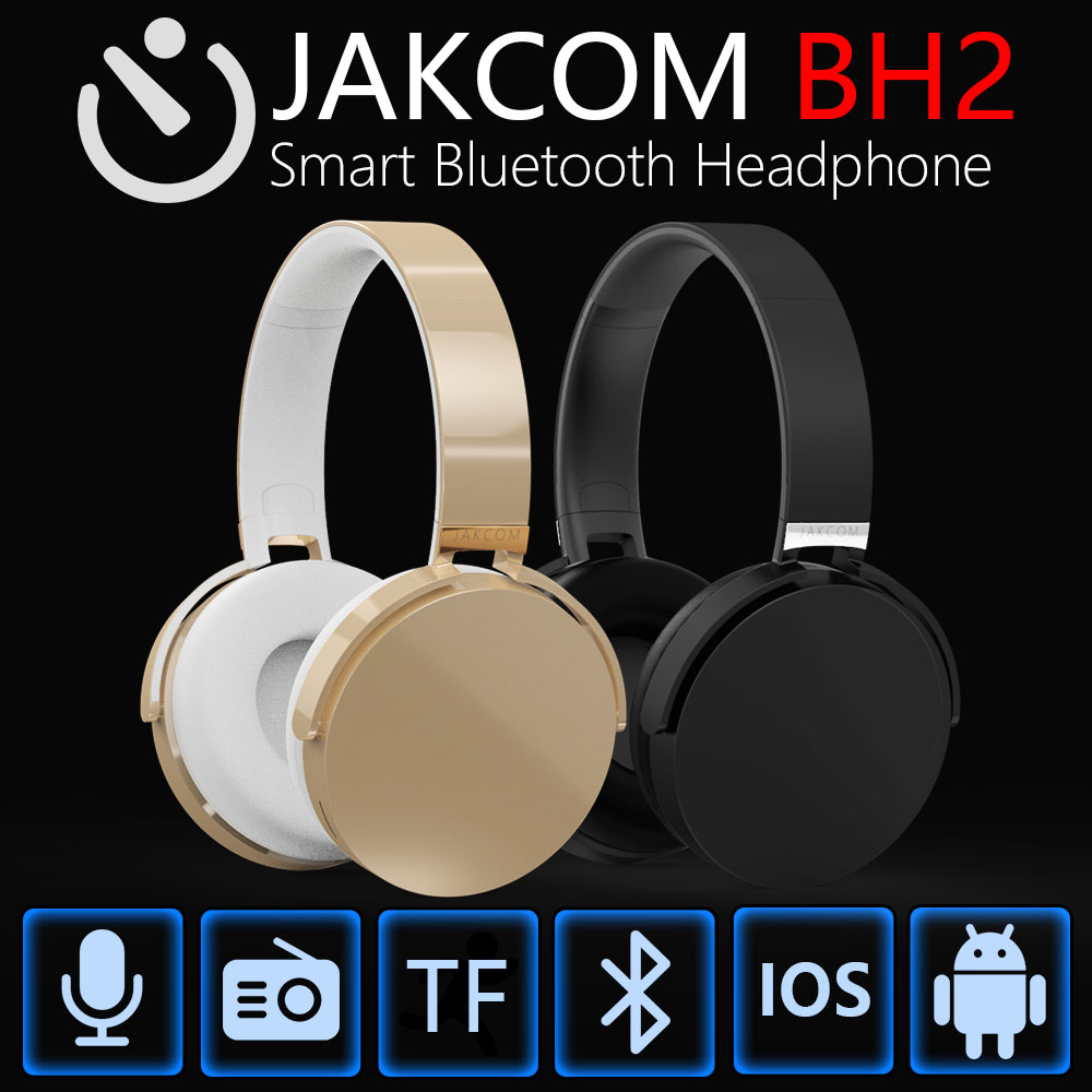 JAKCOM BH2 Smart Bluetooth Headset New Product of Headphones With Microphone For Moblie Phone Bluetooth Headphone