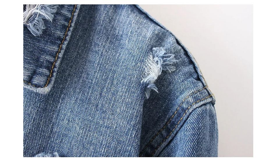 느슨한 구멍 빈티지 재킷 4