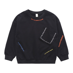 Image 3 - Teenager Jungen T Shirt 2019 Herbst Frühling Marke Kinder Voll Hemd Casual Langarm Sweatshirt Kinder Kleidung Bluse Tops H212
