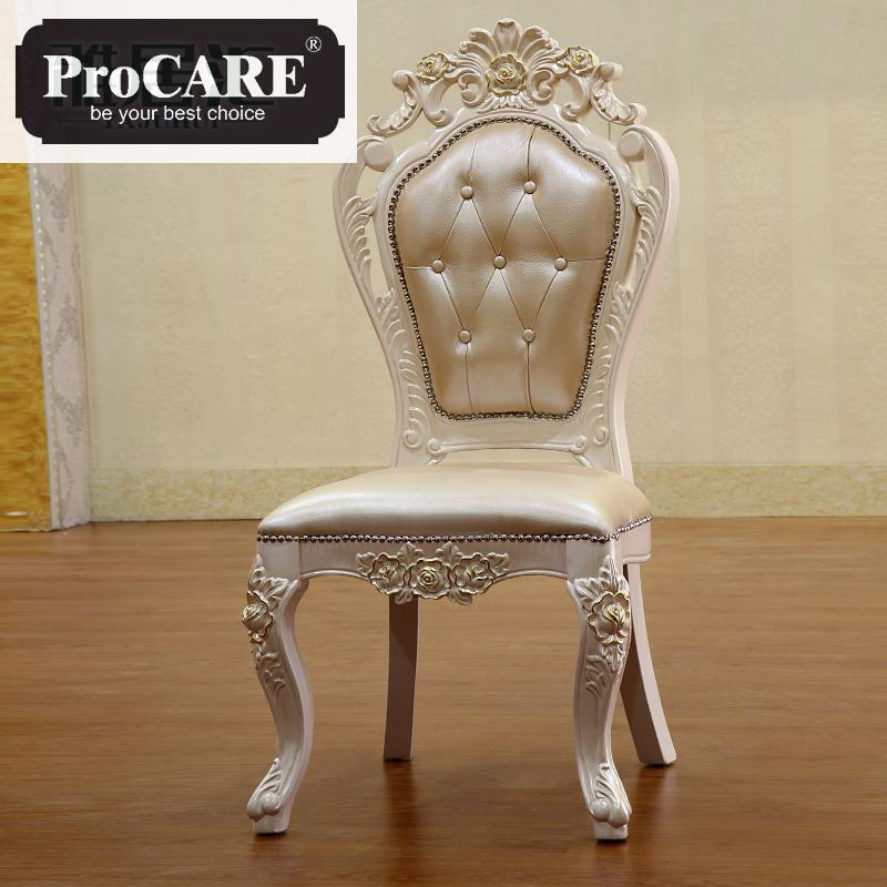 Marvelous Us 450 0 Dining Chair New Classical Simple Solid Wood Leisure Leather Dining Table Chair Leather In Dining Room Sets From Furniture On Beatyapartments Chair Design Images Beatyapartmentscom