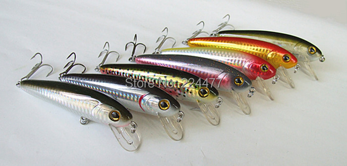 10 5cm 31g Fishing Lure Variable Sinking Lure Minnow Bait Hard bait Fishing tackle China Hook