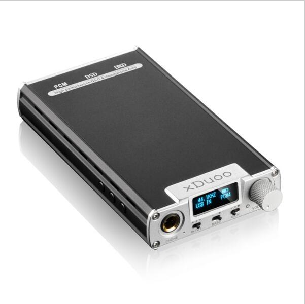 AK Nuovo XDuoo XD-05 Portatile Audio portatile Ad Alte prestazioni DAC AMPLIFICATORE Per Cuffie 32bit/384 khz Decodifica DSD Nativo Con display OLED